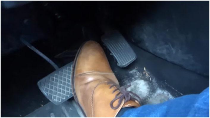 Automatik pedala gas